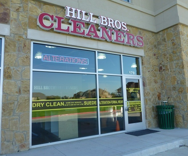 Hill Bros. Cleaners (with drive-thru)